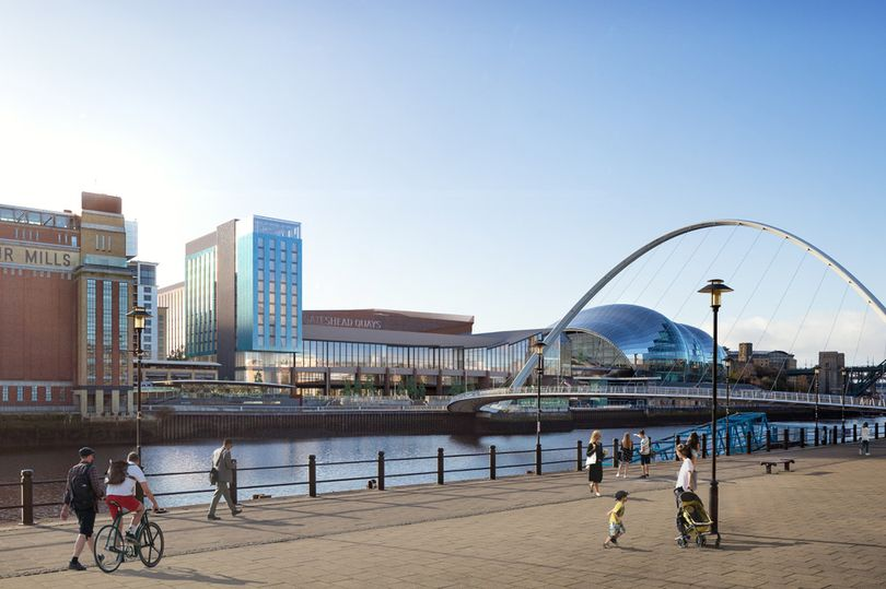New images of £260m waterfront leisure development on banks of the Tyne revealed